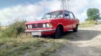 Król polskich szos, limuzyna PRL-u Fiat 125p Wojciech Kośny, Samochód, auto do ślubu, limuzyna Jedlina-Zdrój