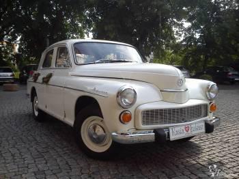 Stylowa *Warszawa* 203, Samochód, auto do ślubu, limuzyna Choszczno