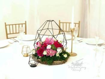 Wyczarujmy dekoracje / Boho / Rustykalne / Glamour / Trendy, Dekoracje ślubne Środa Wielkopolska
