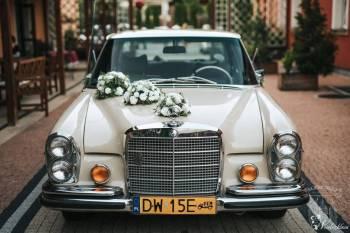 ZABYTKOWY AMERYKAŃSKI MERCEDES 1969r, Samochód, auto do ślubu, limuzyna Mieroszów