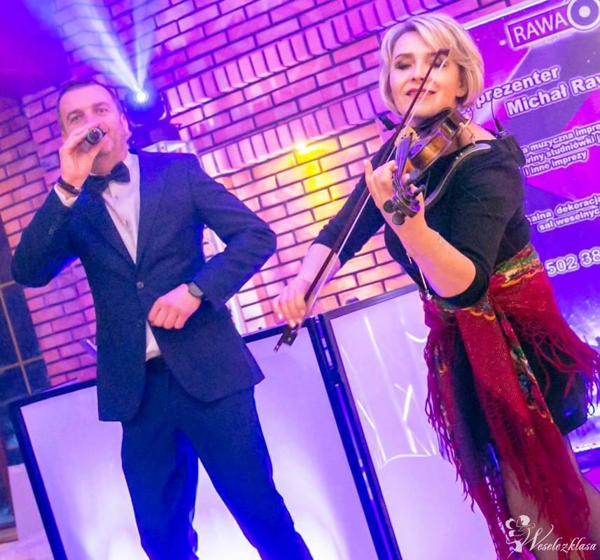 Dj & Violino...światło,ciężki dym,napis LOVE,monitory,projektory ..., Białystok - zdjęcie 1