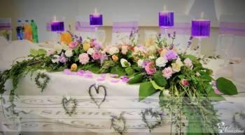 Kwiatowe dekoracje W Stronę Kwiatów, Dekoracje ślubne Koluszki