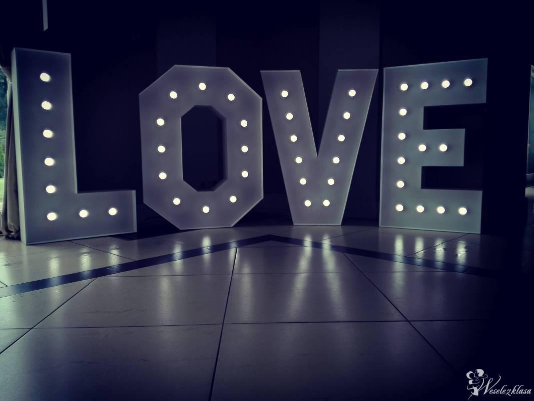 Podświetlany napis LOVE, Bańki mydlane, Poznań - zdjęcie 1