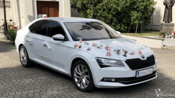 Auto do Ślubu Biały Metalic Superb IIIl BMW 7 Indywidual, Samochód, auto do ślubu, limuzyna Kielce