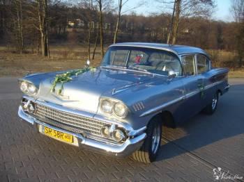 Zabytkowe auta / Chevrolet Belair / Mustang Coupe / Cadillac Deville , Samochód, auto do ślubu, limuzyna Radlin