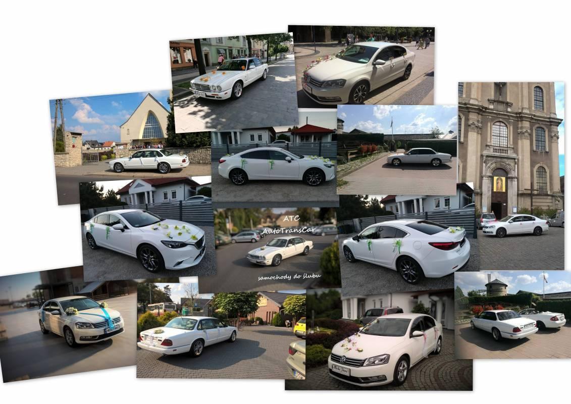 Białe auta- Mazda 6-Passat B7- Jaguar XJ -złote cabrio-sam prowadzisz, Brzeg - zdjęcie 1