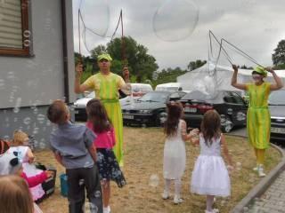 Modelowanie Balonów, Malowanie Twarzy, Bańki, Animacje dla dzieci, Animatorzy dla dzieci Zelów