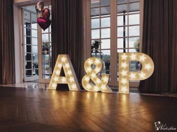 Podświetlane litery - cały alfabet, inicjały, Love, Miłość, Dance, Napis Love Nidzica