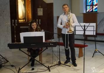 Oprawa muzyczna ślubu - wokal, puzon, pianino - zespół Due Cuori, Oprawa muzyczna ślubu Chełmek