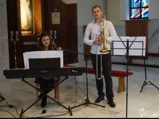 Oprawa muzyczna ślubu - wokal, puzon, pianino - zespół Due Cuori,  Wadowice