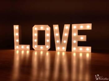 Świecący napis LOVE, Napis Love Gołańcz