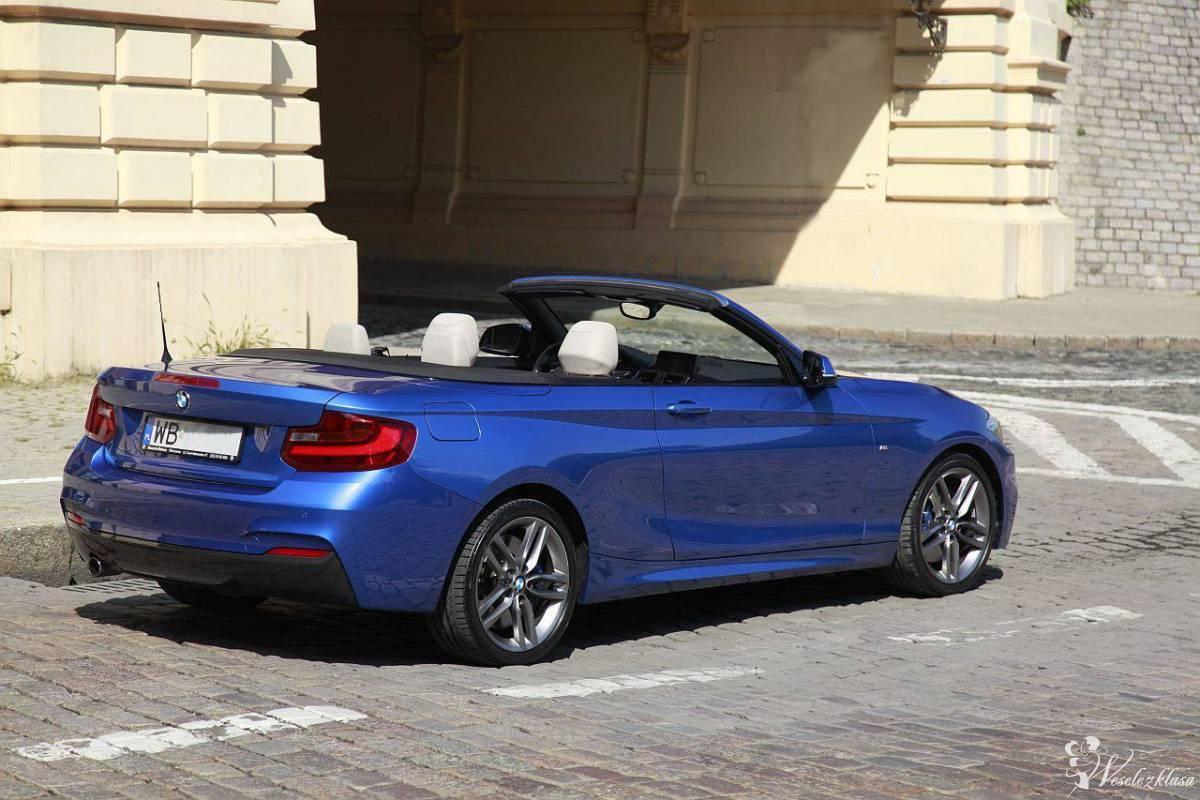 Piękne BMW 220i Cabrio do ślubu i na inne okazje!, Warszawa - zdjęcie 1