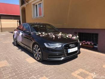 Auto do ślubu Audi A6 S-line Quattro, Samochód, auto do ślubu, limuzyna Dąbrowa Białostocka