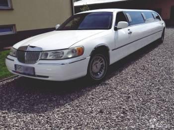 Limuzyna Lincoln Town Car 9 metrów !, Samochód, auto do ślubu, limuzyna Dynów
