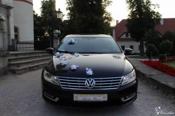 Auto do ślubu, VW CC czarna perła, Samochód, auto do ślubu, limuzyna Gryfów Śląski