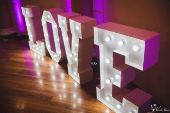 Elegancki podświetlany napis LOVE, Napis Love Pilzno