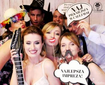 FotoBuźka-atrakcja na każdą okazje!!! Promocje na terminy LUTY ,MARZEC, Fotobudka, videobudka na wesele Sucha Beskidzka
