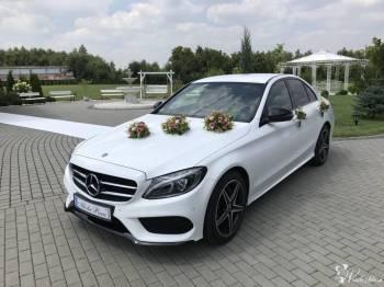 Mercedes C 200 4matic - pakiet AMG - 2018r., Samochód, auto do ślubu, limuzyna Kraków