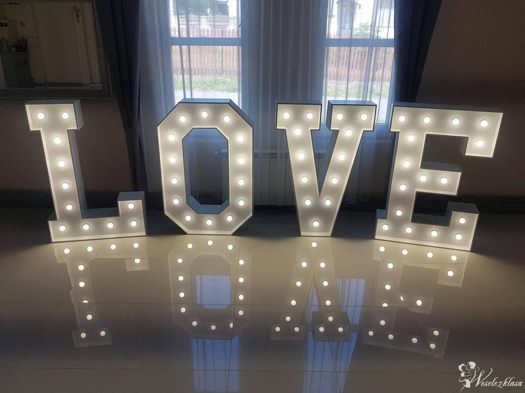 Świecący ledowy napis LOVE 130cm, Ostrowiec Świętokrzyski - zdjęcie 1
