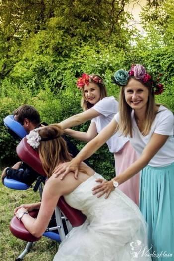 Strefa relaksu na Twoim weselu! Masaż!, Unikatowe atrakcje Łódź