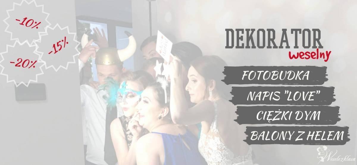Fotobudka - Napis LOVE - Ciężki dym - Balony z helem!!  RABATY DO -20%, Hajnówka - zdjęcie 1