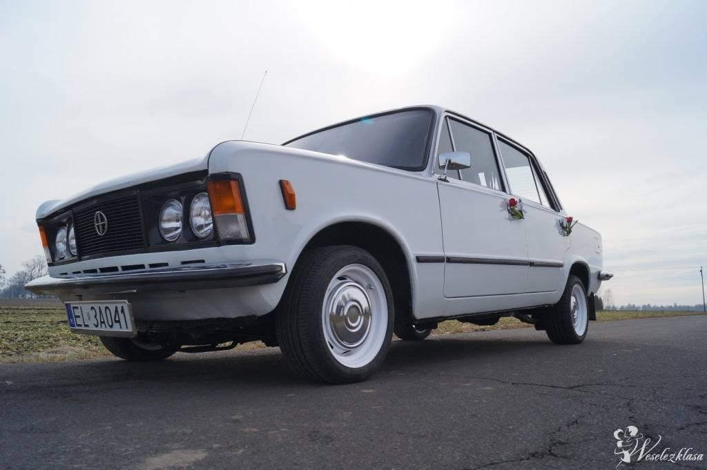 Auto samochód na wesele do ślubu Duży Fiat 125p ! PRL imprezy rocznice, Łódź - zdjęcie 1
