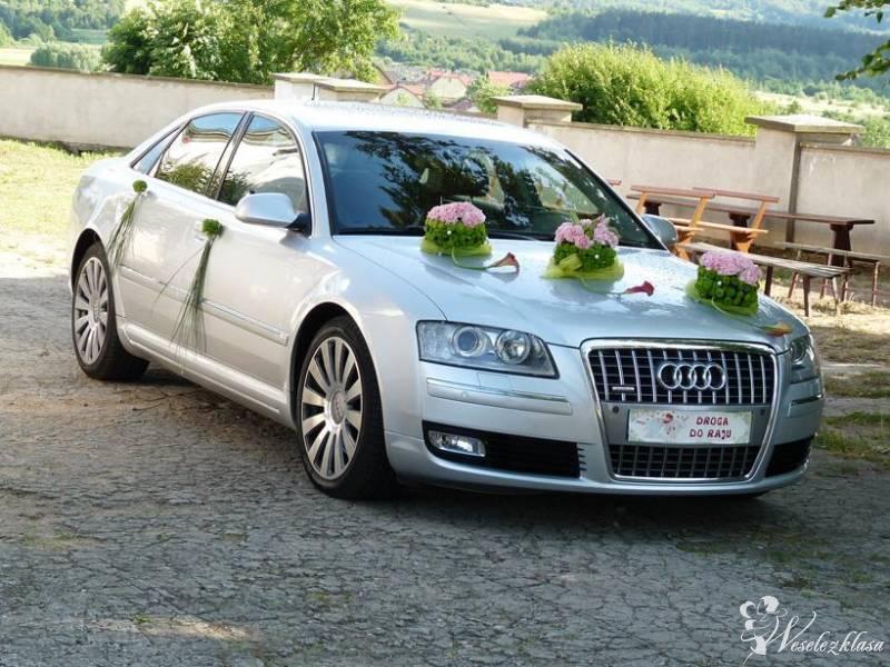 AUDI A8Long -Luksusowa limuzyna do Ślubu AUDI  A8,, Kołobrzeg - zdjęcie 1