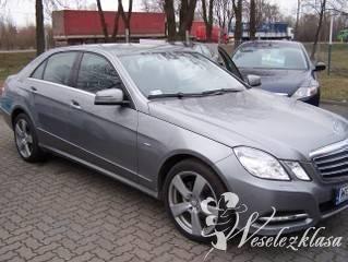 Mercedes W212 z profesjonalnym kierowcą, Samochód, auto do ślubu, limuzyna Michałowo