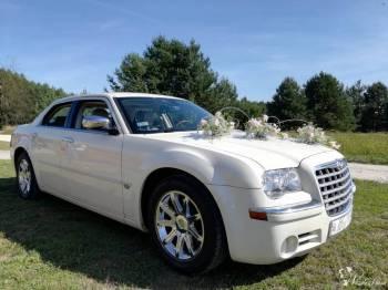 ***Auto do ślubu CHRYSLER 300C 5.7 HEMI***, Samochód, auto do ślubu, limuzyna Parczew