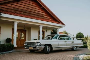 Cadillac - samochód do ślubu, Samochód, auto do ślubu, limuzyna Luboń