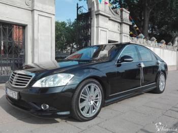 Mercedes S CLASS 550 AMG LANG pełne wyposażenie , stan kolekcjonerski, Samochód, auto do ślubu, limuzyna Szadek
