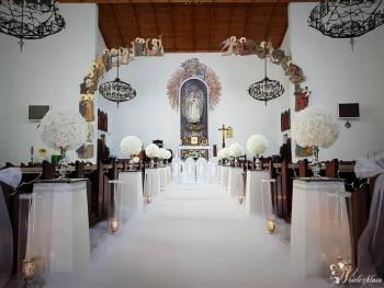 Dekoracja Kościoła,  DecoArt, Dekoracje ślubne Góra Kalwaria