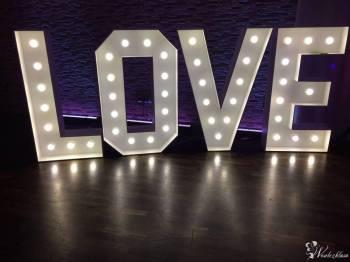 Napis Love Fotobudka Diament wynajem napisu ! Literki na wesele!, Napis Love Kraków