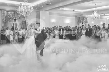Taniec w chmurach, ciężki dym na pierwszy taniec oraz tort, Ciężki dym Nowogród