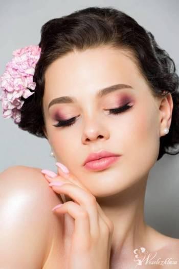 Profesjonalny makijaż, make-up ślubny Martyna Nysztal, Makijaż ślubny, uroda Żory