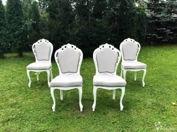 Krzesła na Ślub Ludwik XVI, Dekoracje ślubne Jasło