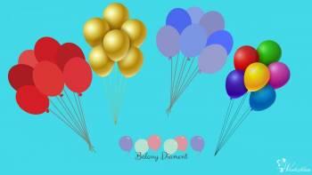 pudło z baloami na wesele balony z helem super atrakcja najlepsze !, Balony, bańki mydlane Kraków