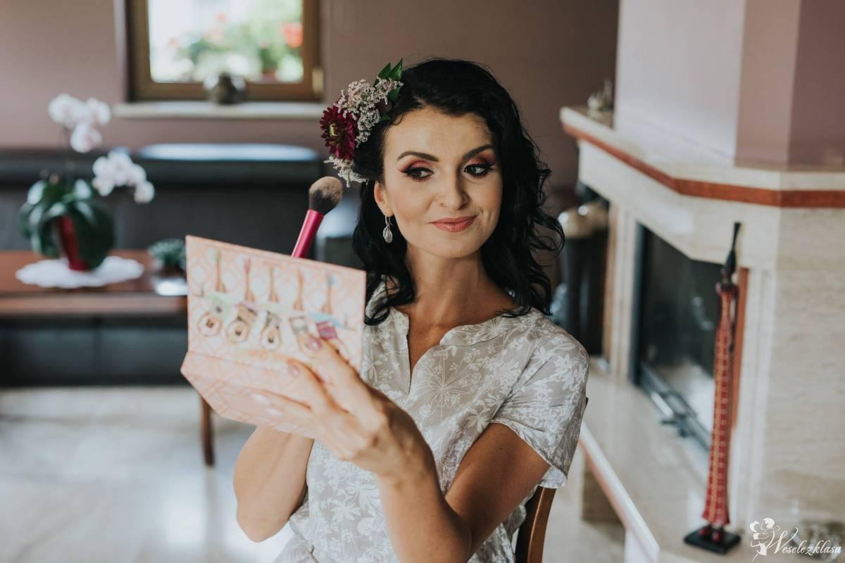 Profesjonalny makijaż ślubny i okolicznościowy z dojazdem, Ruda Śląska - zdjęcie 1
