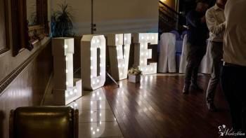 Napis LOVE + fotobudka, Napis Love Rzeszów