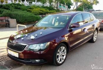 Skoda Superb, Samochód, auto do ślubu, limuzyna Szadek