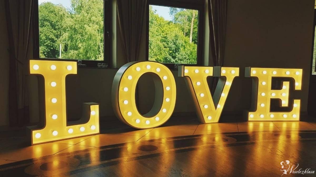 Świetlny napis LOVE - Idealny na dekorację ślubną!, Gliwice - zdjęcie 1