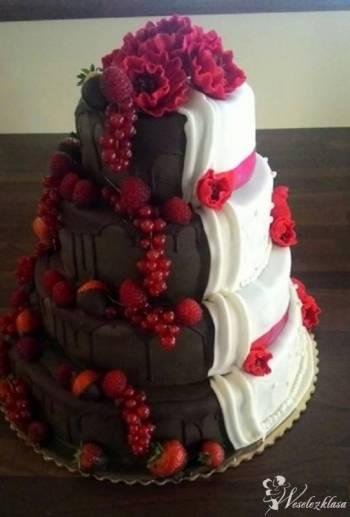 Cake Studio NAKED , DRIP, OMBRE  DOSTAWA, Tort weselny Duchnów