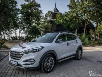 Biały Hyundai Tucson go+, Samochód, auto do ślubu, limuzyna Wągrowiec
