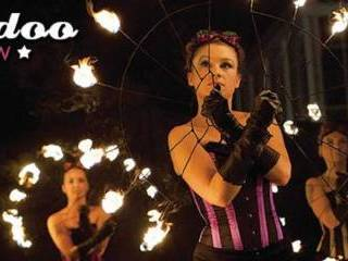 Mamadoo Fireshow, Teatr ognia Puck
