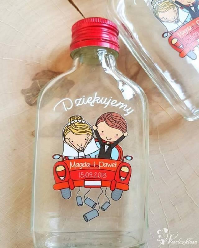 Butelki  z nadrukiem jako podziekowanie dla gości, Bielsko-Biała - zdjęcie 1