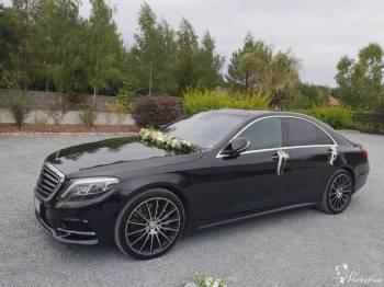 Mercedes S, Samochód, auto do ślubu, limuzyna Bolków