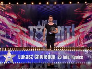 Półfinalista Mam Talent, Spektakl Football Freestyle - Łukasz Chwieduk,  Gdynia