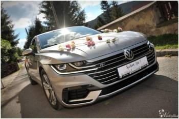 Auto do ślubu piękny Volkswagen ARTEON R-Line, Samochód, auto do ślubu, limuzyna Złoty Stok
