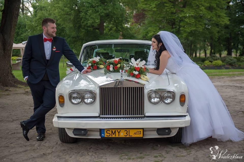 Rolls-Royce wynajem wraz z kierowcą, biały, elegancki, piękny, Wrocław - zdjęcie 1