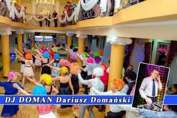 Dj & Wodzirej DOMAN na wesele lub poprawiny, DJ na wesele Lubaczów